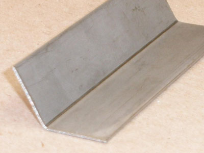 MP Metals A-104 20 gage stainless steel angle