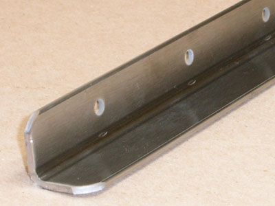 MP Metals A-115 stainless steel angle with holes