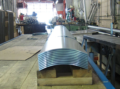 United Roll Forming Bus Corner Plates