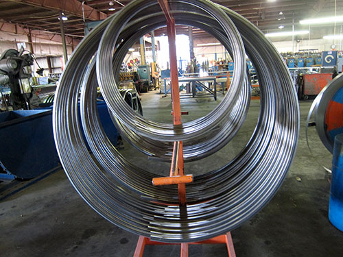 United Roll Forming Metal Filtration Rings