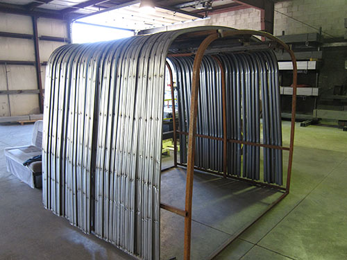 United Roll Forming Steel Wall Bows