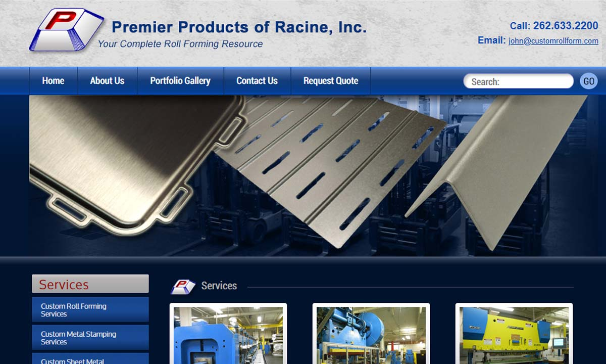 Premier Products of Racine, Inc.