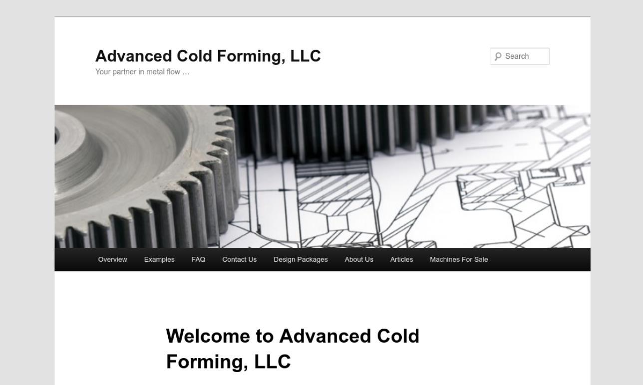 Advanced Cold Forming, LLC
