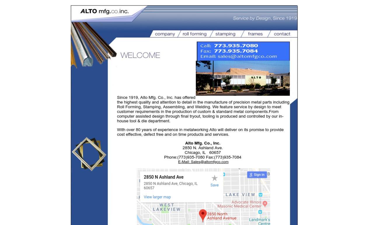 Alto Mfg. Co., Inc.