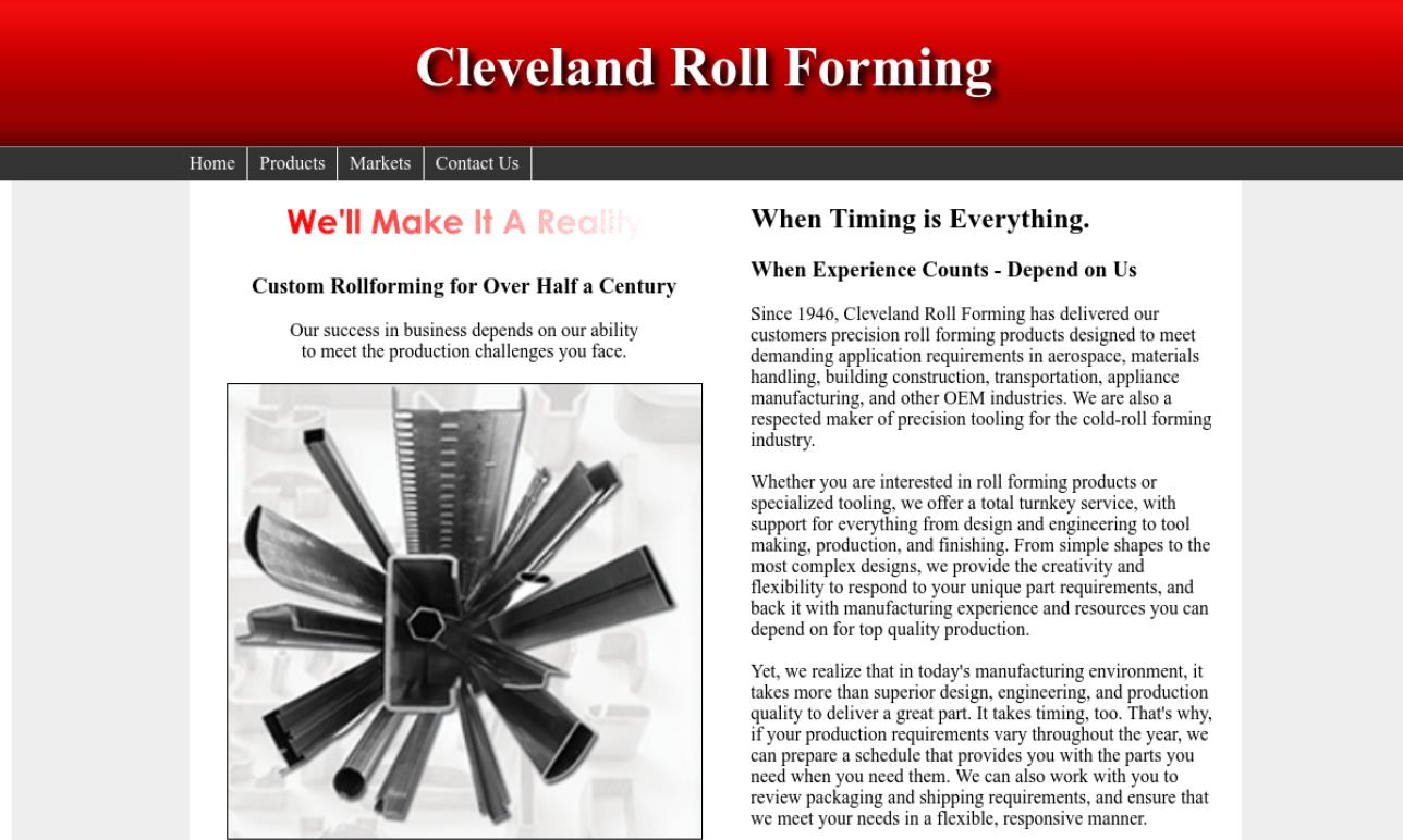 Cleveland Roll Forming