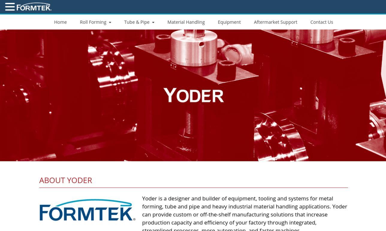 Yoder/Formtek Group