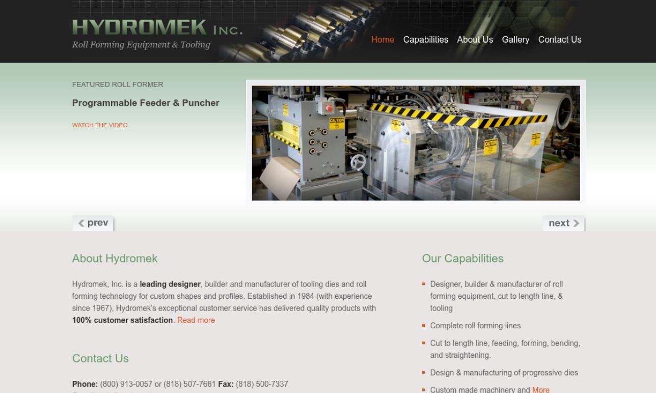Hydromek, Inc