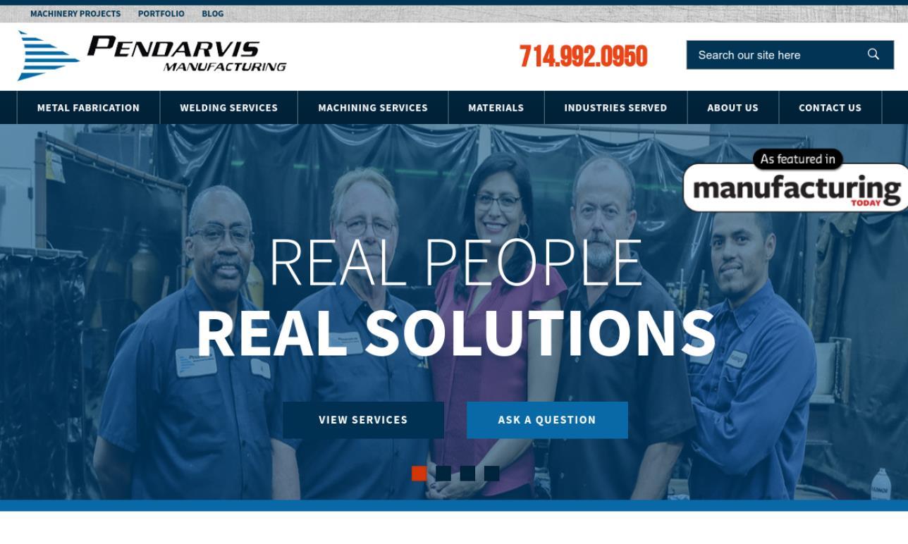 Pendarvis Manufacturing, Inc.