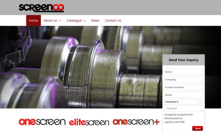 SCREENCO Manufacturing Ltd.