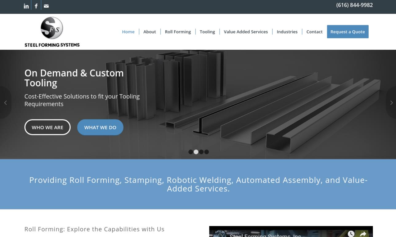 Steel Forming Systems, Inc.