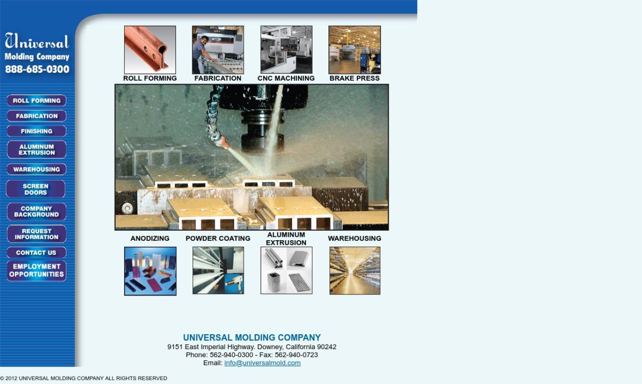 Universal Molding Company