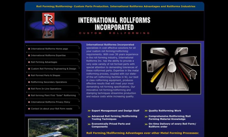 International Rollforms, Inc.