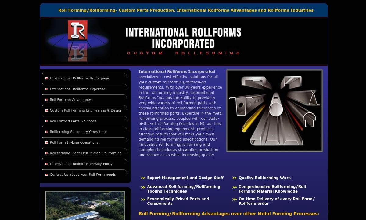 International Rollforms, Inc.