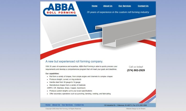 Abba Roll Forming